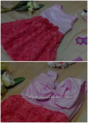 Акция Нарядные платья для девочки Новое В наличии