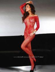 Эротический сексуальный комбинезон боди сетка sexy белье с-20