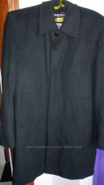 Пальто для мужчин кашемировое размер 52-54 хорошем состоянии