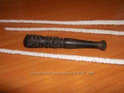 Мундштук для курения ручной работы и три палочки для чистки подарок