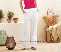 Женские льняные брюки капри 2в1 Tcm Tchibo Германия 42 евро