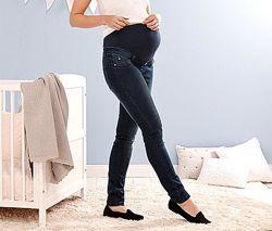 Стильные , комфортные джинсы для  для беременных от tchibo