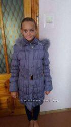 Курточка пальто пуховик размер 42-44 размер S  М