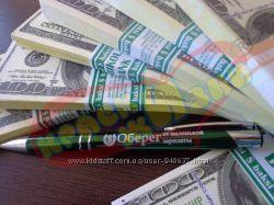 Именная ручка с любой надписью 11 цветов