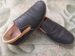 Красивые туфли на мальчика 37 размера