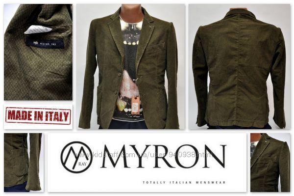 Крутой брендовый пиджак Myron Ray Italy. Джемпер, кардиган, свитер Италия