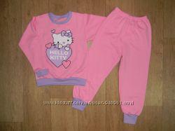 Пижамы на баечке Девочкам размеры 92, 98, 116, 122, 128