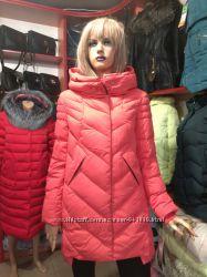 Зимняя куртка кораллового цвета, HaiLuoZi, L