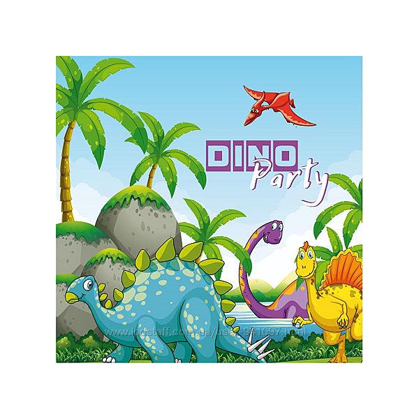 Атрибутика на день рожденье Динозавры