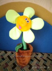 Мягкая игрушка Цветок в горшке