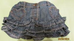 Джинсовая юбка 1, 5-2 года