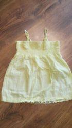 Майка топ блузка туника на 4 -5 лет хлопковая
