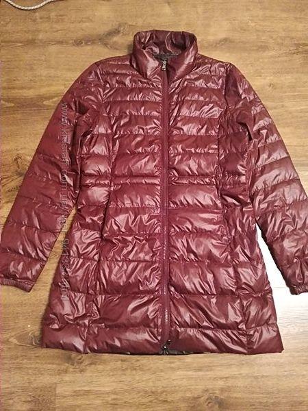 Ультратонкий пуховик stradivarius р. s куртка демисезонная