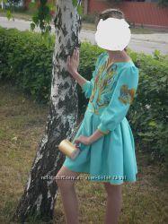 217a6333edc849 Ексклюзивна сукня з вишивкою бісером ручної роботи, 750 грн. Детские ...