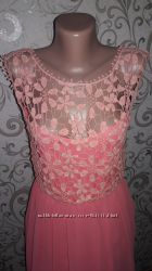 Вечернее платье в пол размер 44