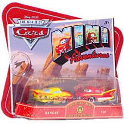 Disney Cars Mini Boot Sarge & Fillmore, Ramone and Flo, Camp&255Sally & Mat