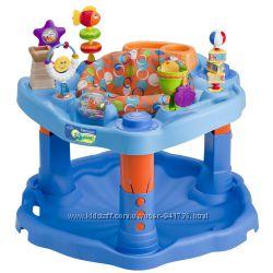 Evenflo игровой центр, прыгунки, многофункциональная, огромная игрушка.