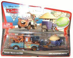Disney Pixar CARS 2 MCQUEEN, Mater и другие тачки Дисней. Оригинал. США.