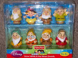 Fisher-Price Little People Disney Snow White and The Seven Dwarfs Белоснежк