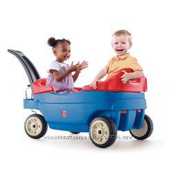 Вагон, машина, тележка, коляска для двух деток Step 2.