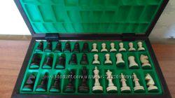 Деревянные шахматы и нарды