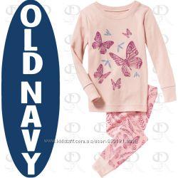 Пижамки для девочек 4-5 лет Old Navy