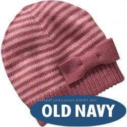 Стильные шапки для девочек Old Navy.