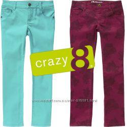 Яркие фирменные джинсы на девочек 6-9 лет  Crazy8.