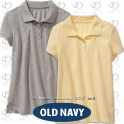 Школьные поло от Old Navy для девочек в 5-ти цветах