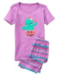 Пижамы на девочек 3-6 лет Gymboree.