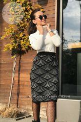 Красивые теплые юбки длиною 60 см. в размере 48-54