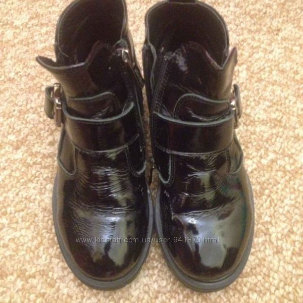 Лаковые ботинки демисезонные размер 34 TM Constanta