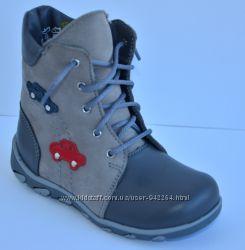 Кожаные Ботинки демисезонные ТМ Берегиня 386228e6e1377