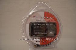 Кардридер ВСЕ-В-ОДНОМ , внешний USB  НОВЫЙ ГАРАНТИЯ