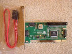 Контроллер PCI, SATA 3порта  IDE 1порт, Combo