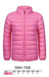 Куртки для девочек весенние без капюшона, Glo-story, 110-160 рр.
