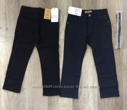 Котоновые брюки для мальчиков для школы, ТМ S&D, Венгрия, 6-16лет