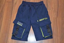 Трикотажные бриджи с накладными карманами для мальчиков, ТМ S&D. Венгрия, 1