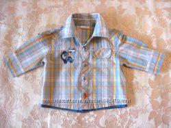Рубашка Cherokee на маленького модника от 0 до 6 мес. р. 62-68