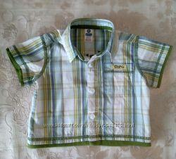 Стильная рубашка Zara, 6-9 мес.