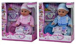 Пупс кукла с бутылочкой, горшком, памперсом с аксессуарами