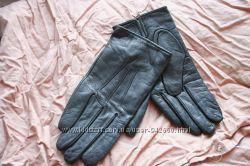 Перчатки кожаные замшевые Румыния мужские 8, 5 размер