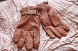 Перчатки кожаные замшевые Румыния мужские 9 размер