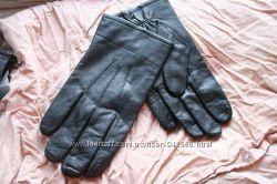 Перчатки кожаные лайковые Румыния мужские 10 размер