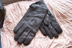 Перчатки кожаные  Румыния мужские большие размеры 10, 5-12