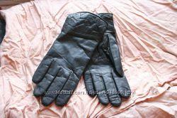 перчатки кожаные румыния черные 8 размер