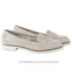 Туфли - Лоферы C&A светло-серые 41р.