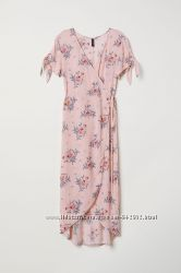 Платье миди на запАх H&M р. 36