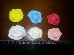 Роза латекс фоамиран