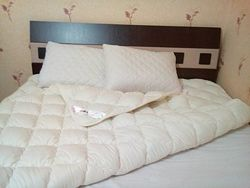 Одеяло Антиалиргенное 4 сезона летнее -хлопок демисезон -искусственный пух